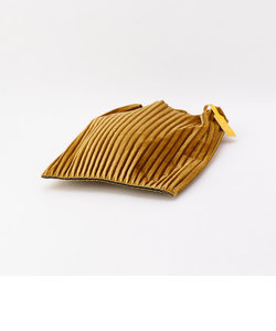 【Anita Bilardi/アニタ ビラルディ】 ベロアプリーツバッグ