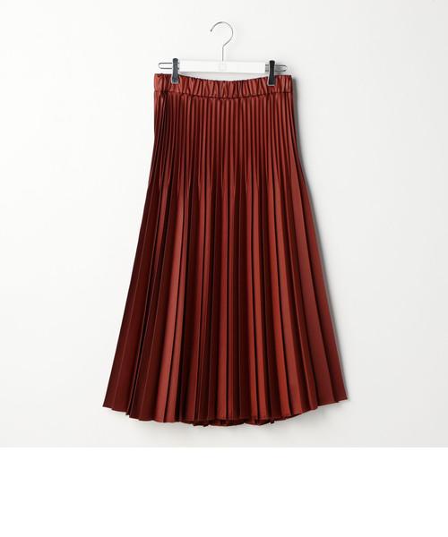 トリアセダイヤモンドプリーツスカート