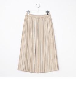 ラメストライププリーツスカート