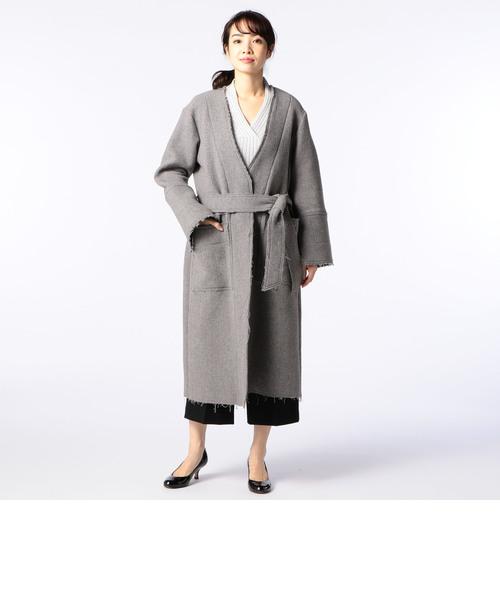 MANTECO 二重織りコート