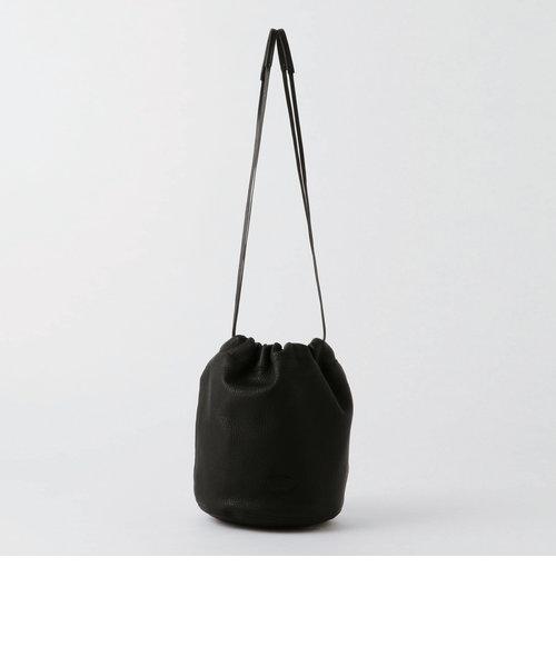 クラウドレザーミニ巾着バッグ
