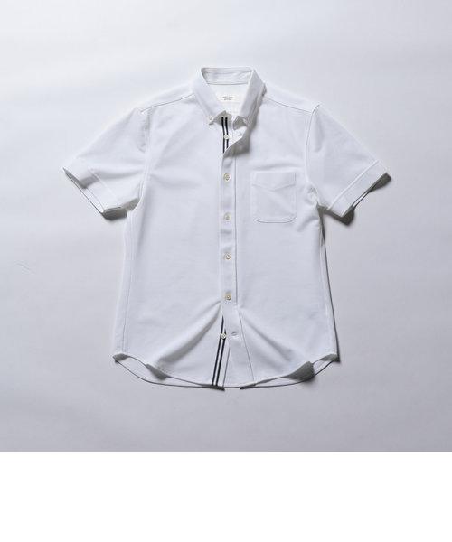 DRY MASTER カノコ半袖ボタンダウンシャツ