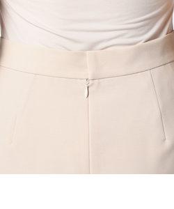 麻調ツイルフレアテイルスカート