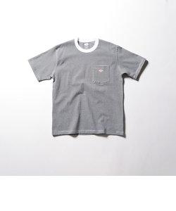 【Danton / ダントン】ロゴワッペンポケTee (#JD-9041)