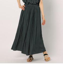 [新色追加]割繊ギャザーロングスカート