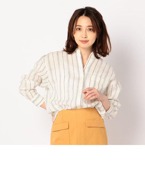 リネンゆるシャツ