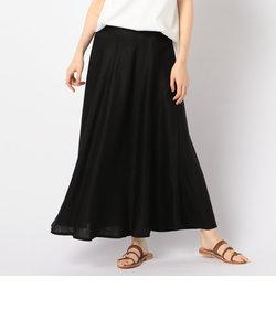 リネンマキシスカート