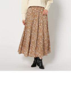 更紗柄スカート
