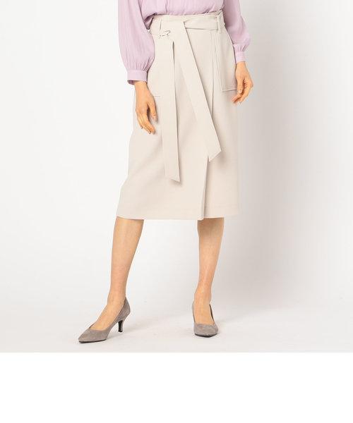 リボン付きポケットスカート