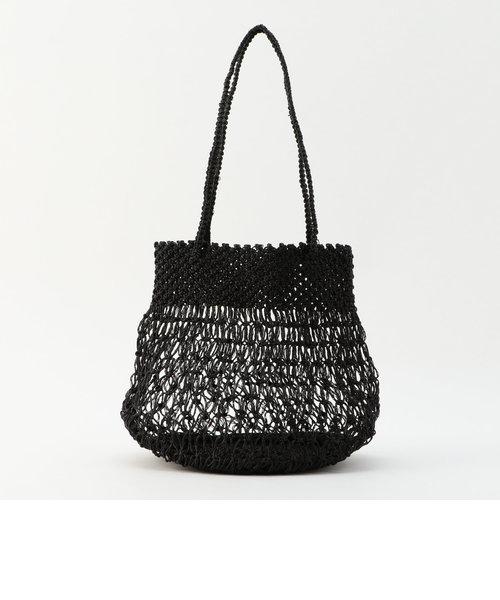 【BAGMATI/バグマティ】メタリック編みミニバッグ