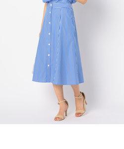 ストライプセットアップスカート