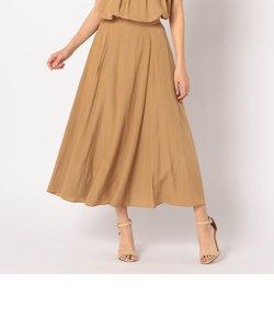 割繊フレアースカート