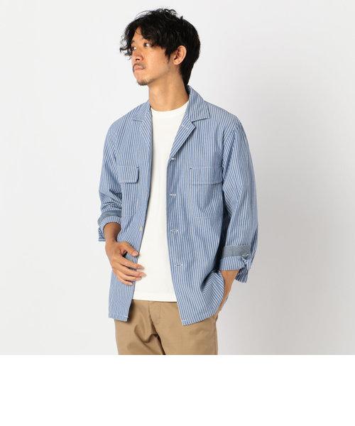 オープンカラー シャツジャケット[NOLLEY'S light]