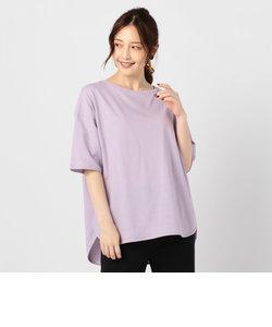 強撚天竺ラウンドテールTシャツ