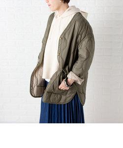 リバーシブルキルティングジャケット