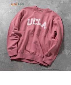 YALE / UCLA 別注 カレッジロゴ ヴィンテージ加工 ビッグシルエット スウェット プルオーバー UNISEX