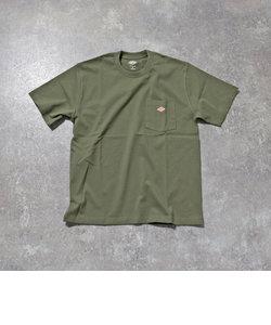 【DANTON/ダントン】JD-9041 SOLID Tシャツ ポケT