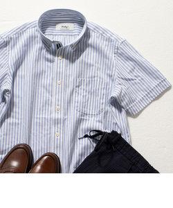 DRY MASTER ボタンダウン 半袖シャツ (※クールビズ、テレワークなどに最適!)