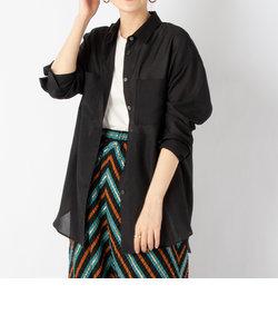 ◇【WEB限定カラーあり】シアーシャツ