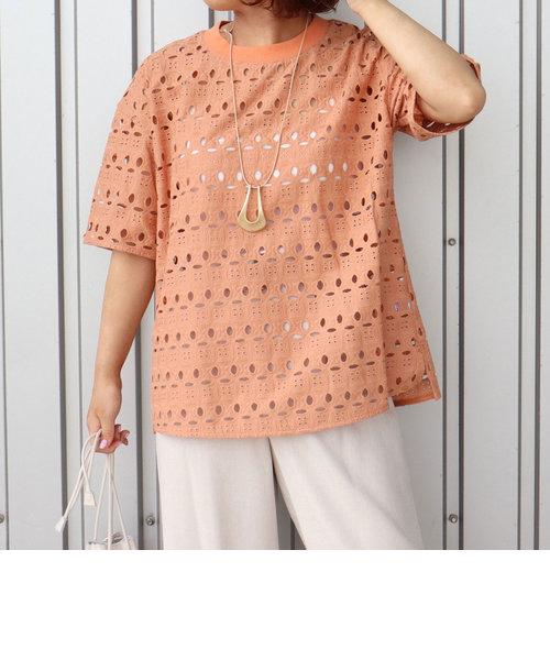 【WEB限定】刺繍レーストップス