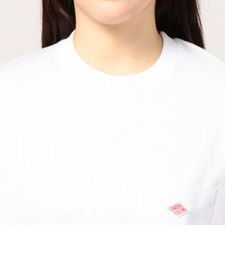 DANTONPOCKETクルーネックTシャツ