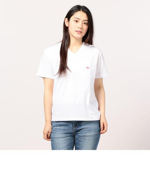 DANTON POCKET VネックTシャツ