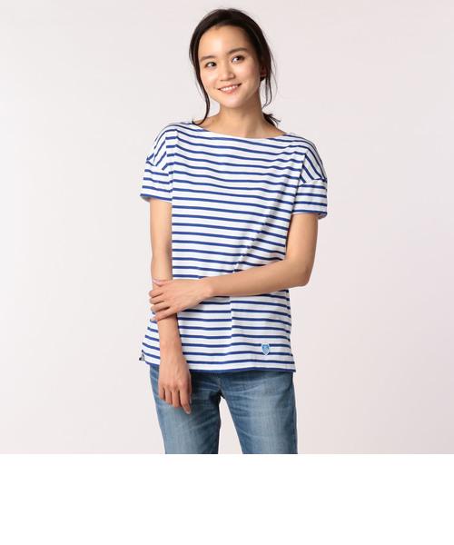 【ORCIVAL/オーシバル】40/2ストライプTシャツ(#RC-6829)