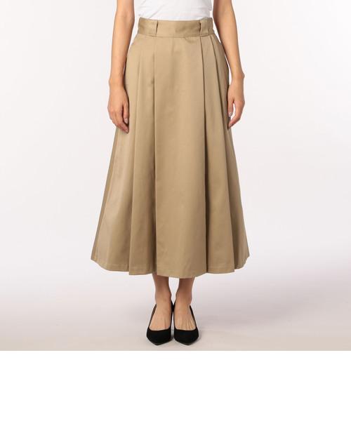 【DANTON/ダントン】WEST POINT タックロングスカート