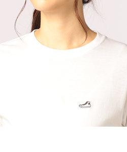 スニーカー刺繍レディスTシャツ