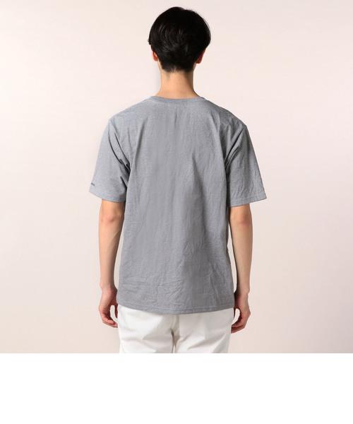 袖口刺繍ポケットTシャツ