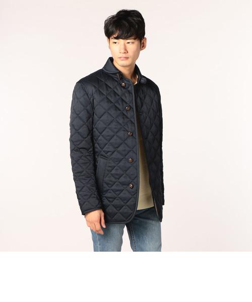丸襟キルトジャケット