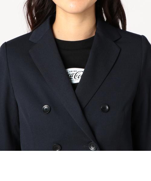 強撚ツイル ダブルブレストジャケット