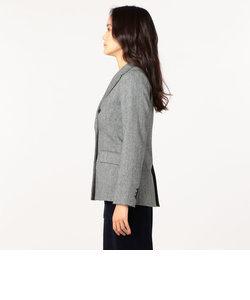 ネップヘリンボン ダブルブレストジャケット