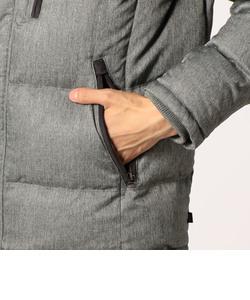 ウールライクMIXフレンチダウンジャケット