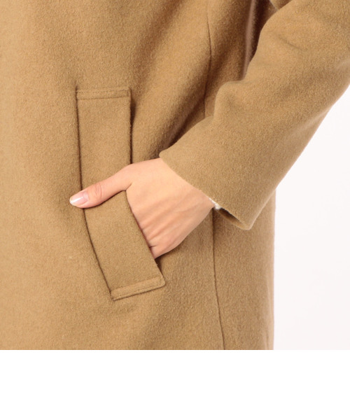 フード付きジップコート