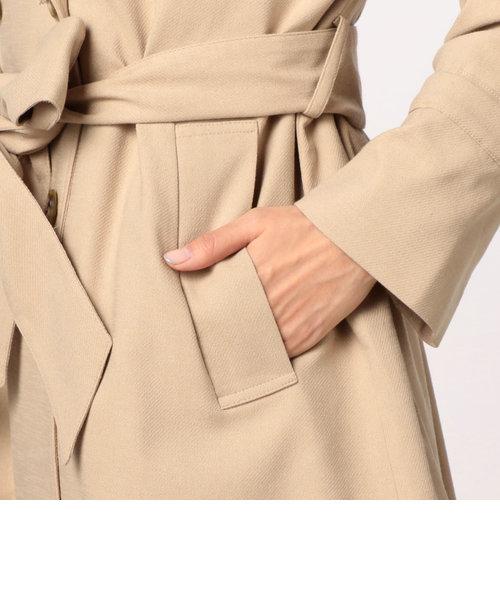 綿スラブAラインコート