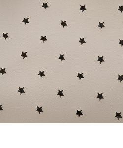 星パンチングバンブーハンドルバッグ