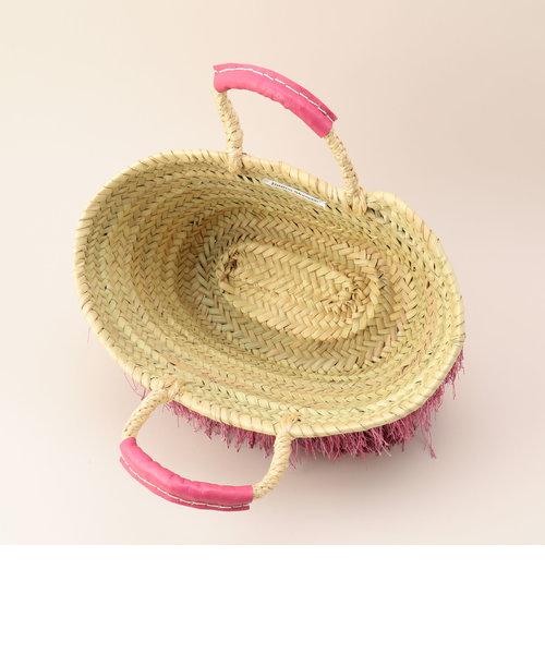 【Fatima Morocco/ファティマモロッコ】フリンジバスケットバッグ