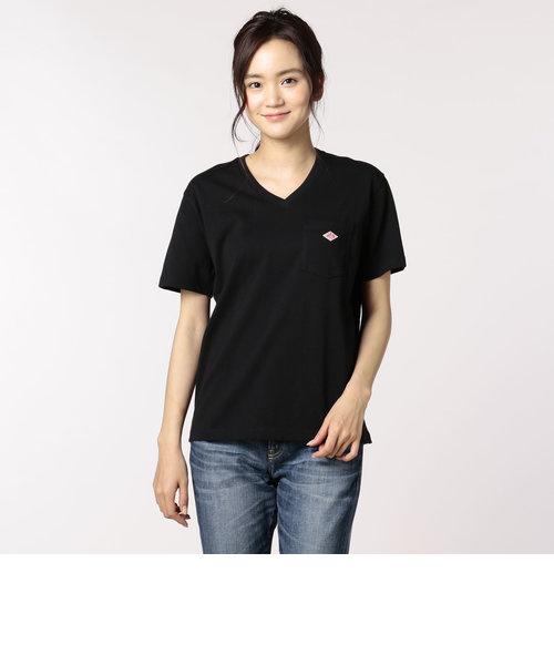 【DANTON/ダントン】(#JD-9088)POCKET VネックTシャツ