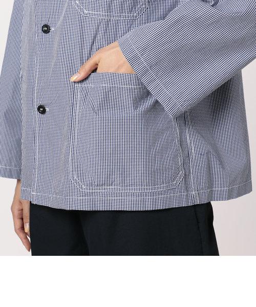 【DANTON/ダントン】丸えりシャツブルゾン