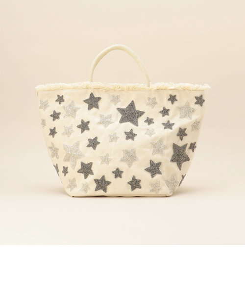 【ANAN'S/アナンズ】★ビーズ刺繍トートバッグ