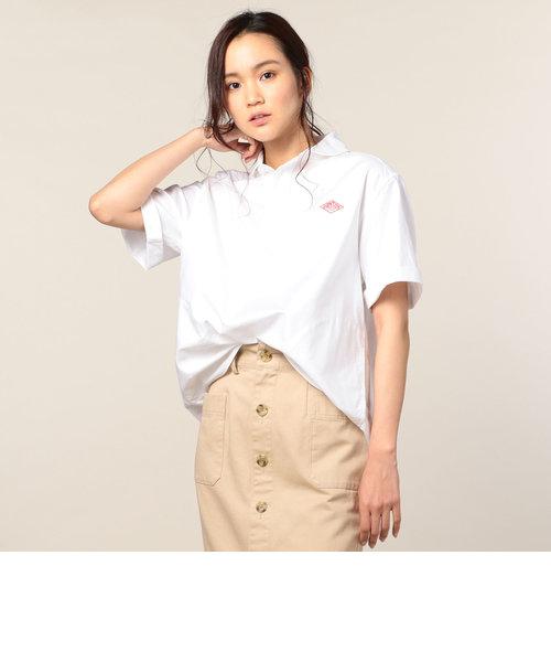 【DANTON/ダントン】丸襟半袖シャツ・無地 (#JD-3565YOX)