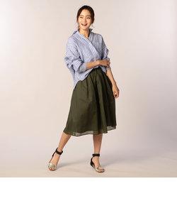 【新色追加】バックタックリネンシャツ