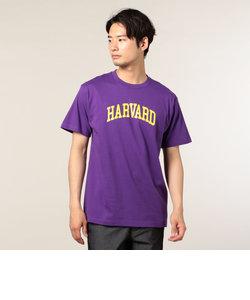 HARVARD purple Tシャツ