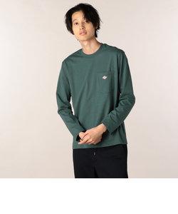 【DANTON/ダントン】ポケット付ロンT(#JD-9077)