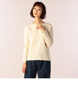 オープンエンド袖釦バスクシャツ