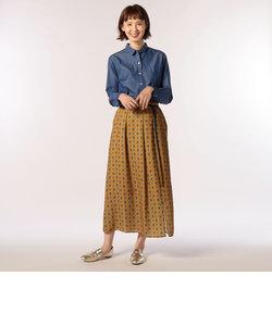 プリントロングスカート