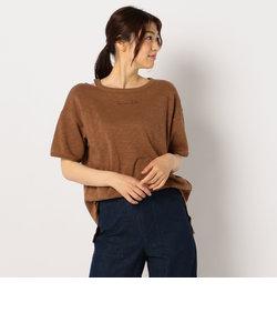 [新色追加]ヴィンテージスラブ裏毛 衿デザインTシャツ