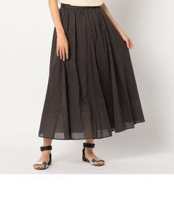 綿ローンマキシギャザースカート