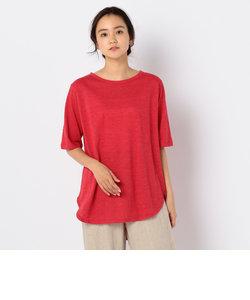 Marble Vintage天竺ラウンドヘムTシャツ